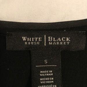 White House Black Market Tops - White House Black Market lace overlay tee
